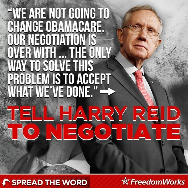 Harry Reid's Shutdown