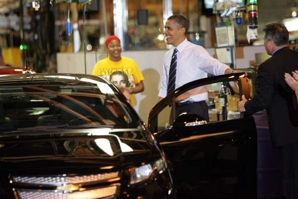 Chevy Volt and President Obama