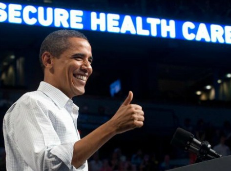 ObamaCare thumbs up