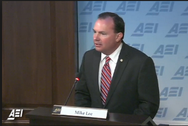 Senator Mike Lee at AEI