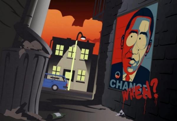 South Park Obama