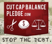 Stop the Debt - Sign the Cut Cap Balance Pledge
