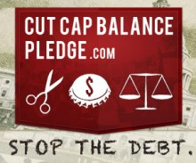 Sign the 'Cut Cap Balance' Pledge