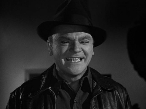 James Cagney is not impressed.