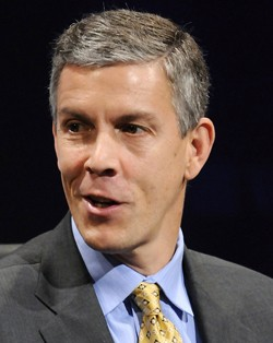 Education Secretary Arne Duncan doesn't obey the law... because he doesn't have to.
